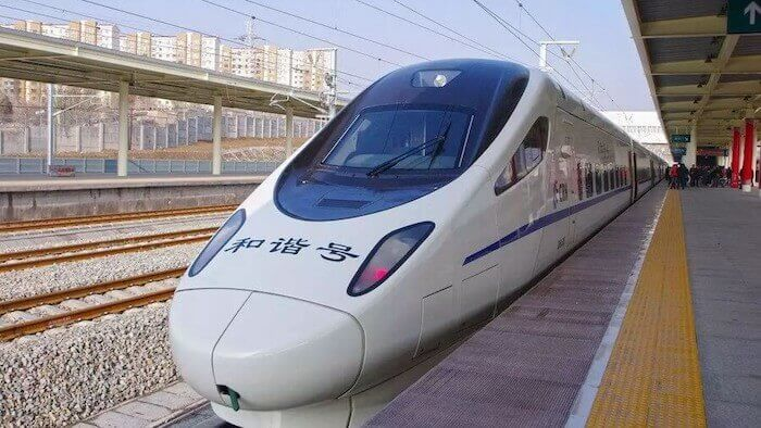 High speed railway