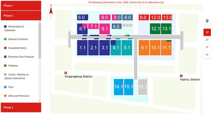 canton-fair complex layout
