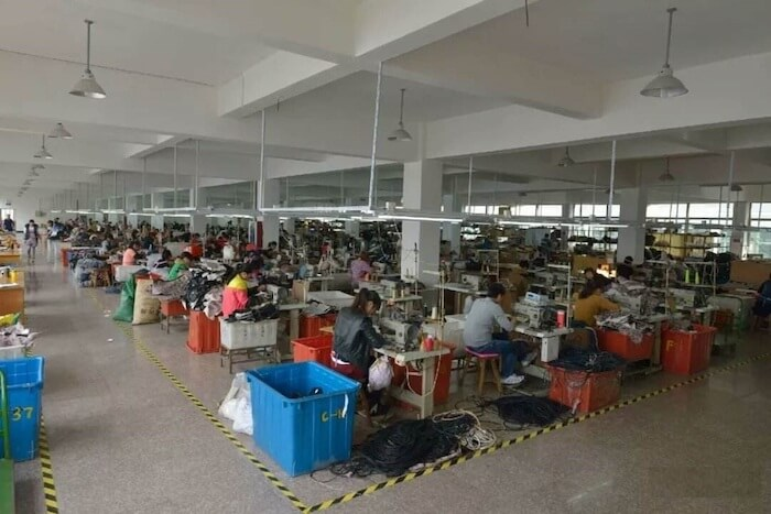 Fashion bags factory