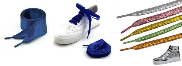 satin silk ribbon shoelace