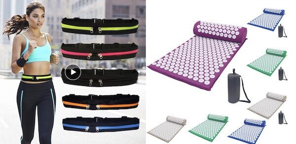 waist bag yoga mat